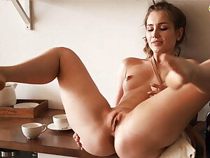 DOEGIRLS - Solo in the Morning On the Kitchen Table With respect to Titillating Mary Rock