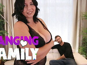 Banging Family - Chubby Chick with Big Natural Tits