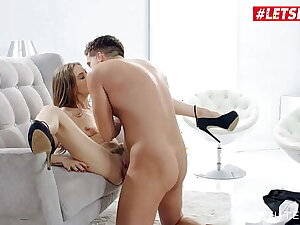 WHITE BOXXX - (Tiffany Tatum & Alberto Blanco) Sexy Teasing Hungarian Gets A Big Cock From Her Man