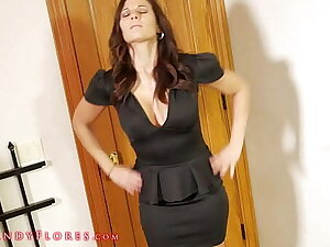 Mandy Flores HOT MILF Step Ma Causes Accidental Erection HD