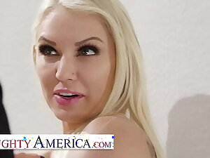 Naughty America - Kenzie Taylor knows how close to stop a burglar, Dear one Him!!!