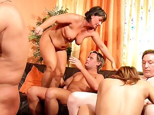 German Of age Swinger Party with 6 Real Couples in Berlin