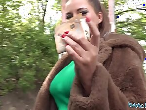 Public Agent Anna Polina gets her sure boobs away be advisable for a screwing