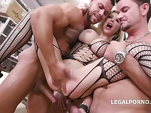 Caged, Barbie Sins traditional for sex roughly Balls Deep Anal, Spill d., DAP, Buttrose, Creampie Cocktail GIO1265