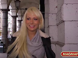 MAGMA Jacket German Anal Beauty picked up for sex
